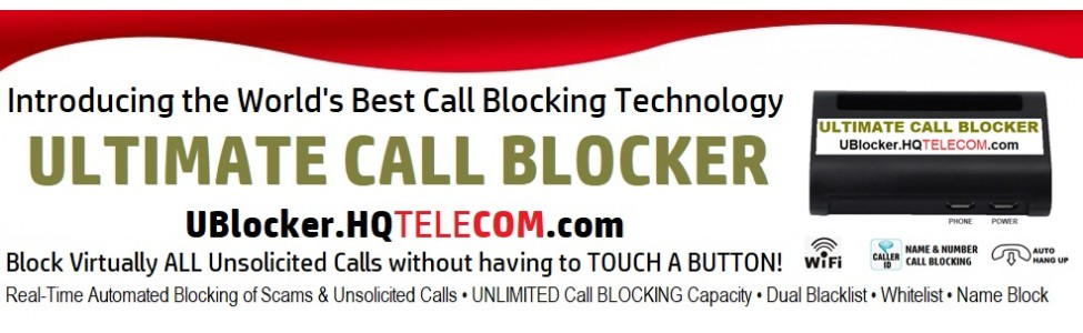 UBlocker Call Blocker WIFI