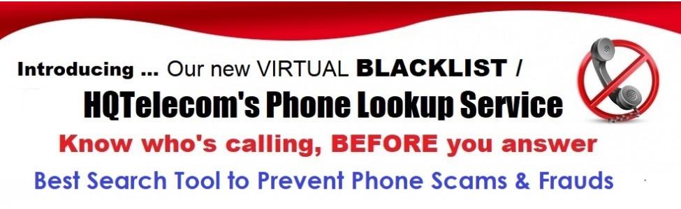 Virtual BLACKLIST Service