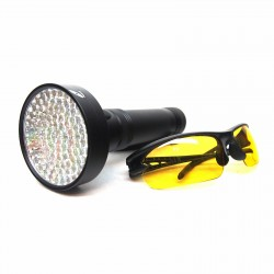 uvHQ 100 LED UV Flashlight