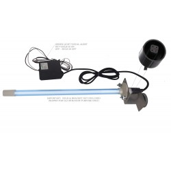 24V Replacement Electronic Ballast for UV Lamps with Visual Alert for Bulb ON/OFF