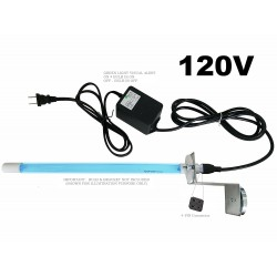 120V Replacement Electronic Ballast for UV Lamps with Visual Alert for Bulb ON/OFF