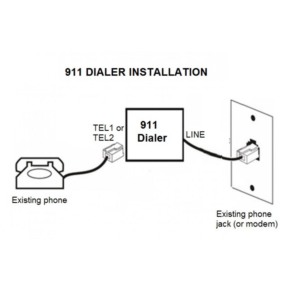 911 dialer
