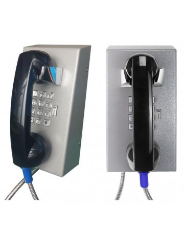 Stainless Steel Wall Phone w/Dialpad