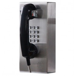 Stainless Steel PBX Phone Dialer