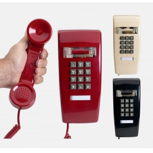 Industrial Wall Phone with Dialpad