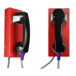 Auto Dial Emergency Wall Phone - Vandal & Weather Proof