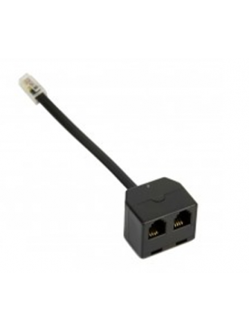 RJ9 Y Splitter for Telephone Handset