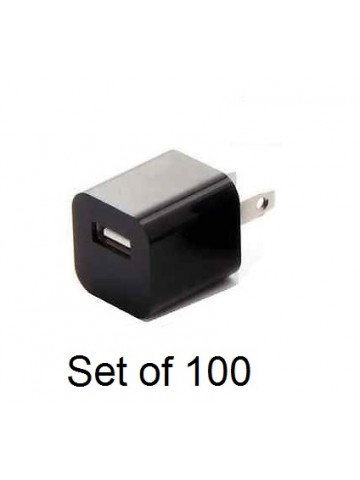 USB Power Charger / Adapter - 100 units